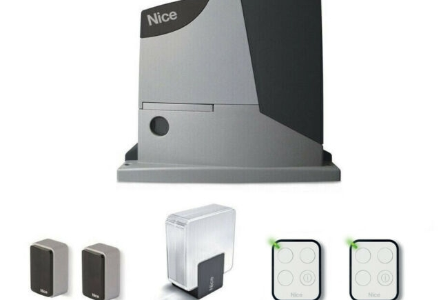 Promo NICE Kit completo per cancelli battenti